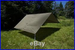 Aqua Quest Safari Tarp Large 13 x 10 ft Lightweight Waterproof Sil Nylon Ca