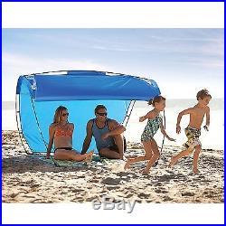 BLUE Sport-Brella Breeze XL Adjustable Portable Beach Camping Outdoor Canopy NEW