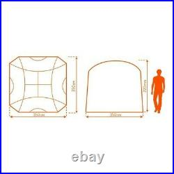 BNWT Eurohike Dome Event Shelter Gazebo (3.5m x 3.5m) with 4 sides RRP £280