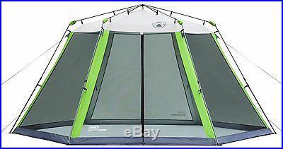 BRAND NEW! Coleman 15 x 13 Instant Screened Shelter Heavy-duty 150D Canopy