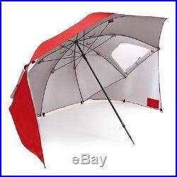 BRAND NEW! Sport-Brella Umbrella Portable Sun and Weather Shelter In Red
