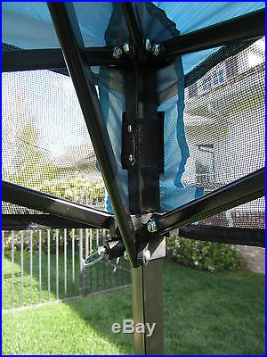 Backpack Canopy / Ultra Compact Light-Blue Canopy