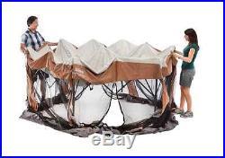 Backyard Canopy Outdoor Tent Gazebo Party Coleman Screened Shelter Shade Sun New