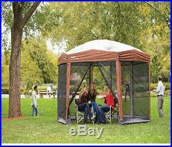 Backyard Party Shelter Canopy Tent Screen Sun Protection Camping Portable Gazebo