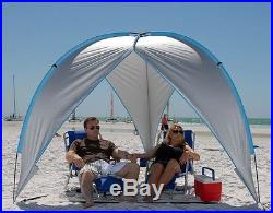 Beach Cabana Shelter Tent Canopy Gazebo Pool Sun Shade