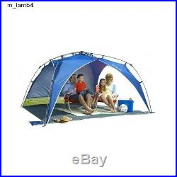 Beach Canopy Tent Instant Portable Light Weight Blue Sun Protection