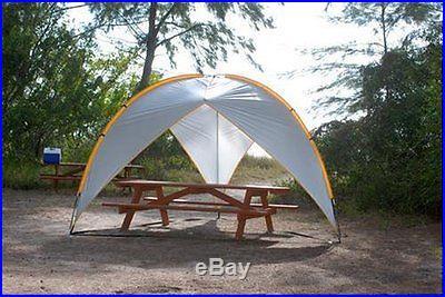 Beach Pro Tripod Sun Rain Shelter Shade Canopy Camping
