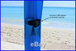 Beach Tent Canopy, Large Umbrella, Commercial Cabana Outdoor UV Sun Shade Camp