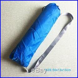 Beach Tent Sandbag Anchors 2 FREE Poles UPF50 Lycra Fabric Sun Shelters Camping