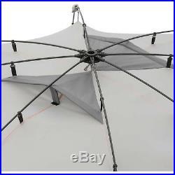 Beach Umbrella Sun Shade Tent 8' x 8' Family Pool Camping Sports Shelter Canopy
