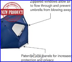 Beach Umbrella Sun Tent Family Pool Camping Sport Shelter Canopy XL Outdoor 8ft