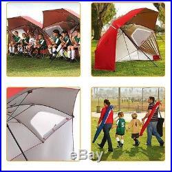 Beach Umbrella Weather Shelter Cabana Camping Tent Travel Sport Canopies Brella