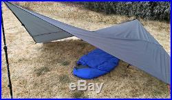 Bear Paw Wilderness Designs 9.5x9.5 Silpoly Foliage Green Tarp/Tent