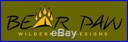 Bear Paw Wilderness Designs 9 x 9 Silnylon Gray Tarp