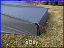 Bear Paw Wilderness Designs Baker Silnylon Tarp/Tent (San Juan 2) ext front
