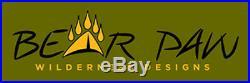 Bear Paw Wilderness Designs Baker Style Silnylon Gray San Juan 4 withExtend Front