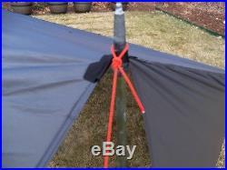 Bear Paw Wilderness Designs Baker Style Silnylon Gray Tarp/Tent (San Juan 2)