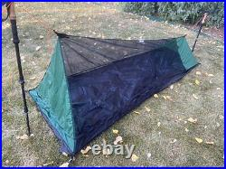 Bear Paw Wilderness Designs Minimalist 1 Bug Tent with Silylon Front and Foot
