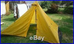 Bear Paw Winderness Designs Luna 4 Pyramid Tent Tarp