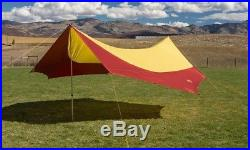 Big Agnes Deep Creek Tarp Shelter Large YellowithRed