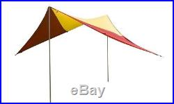 Big Agnes Deep Creek Tarp Shelter Small YellowithRed