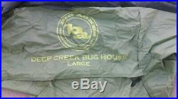 Big Agnes Large Deep Creek Bug House Shelter & Green Leaf Tarp