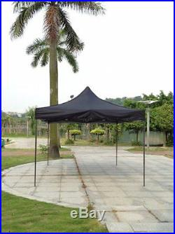 Black 10x20 Instant Canopy Beach Sun Shade Tailgate Shelter Home Backyard Gazebo