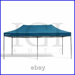 Blue 10'x20' Pop Up Canopy Instant Shelter Easy Setup Water UV Resistant