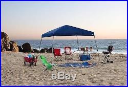 Blue 12 x 12 Portable Canopy UV Protection Beach Backyard Deck Summer Shade New