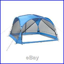 Blue 2-Door Sun Valley Screen House With Mesh Walls +Rain Fly 12 X 12 Tent