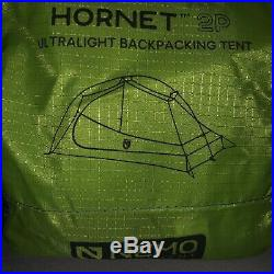 Brand New Nemo Hornet 2p (2019) Ultralight Backpacking Tent WithFootprint Included