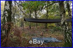 Bushcraft / Camping / Wax Cotton / Oil cloth / Summer Tarp