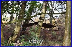 Bushcraft / Camping / Wax Cotton / Oil cloth / Winter Tarp