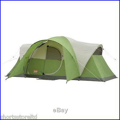 COLEMAN MONTANA 8 PERSON MAN MODIFIED DOME CABIN TENT FAMILY SCOUTING CAMPING