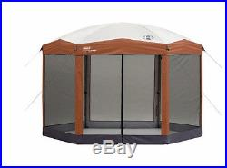 Camping Beach Campouts Picnics Pop Up Portable Instant Screened Canopy 12X10