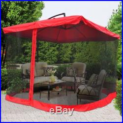 Camping Dining Tent Screened Enclosures Red Canopy Easy Up Outdoor Gazebo