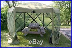 Camping Equipment Tents Screened In Shelter Pop Up Camping Picnic Outdoor Canopy