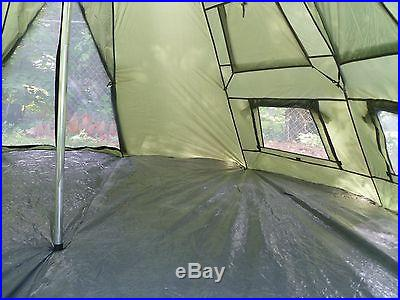 Camping Teepee Tent 6 Person Big Hiking Family Lightweight