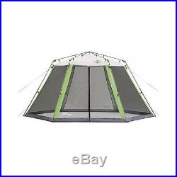 Camping Tent 15' x 13' Instant Screened Shelter Coleman Canopy Outdoor