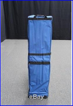 Canopy 10x20 Heavy Duty Outdoor White Polyester Water Resistant Collapsible