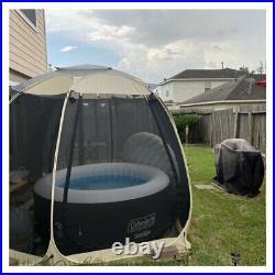 Canopy Gazebo Outdoor Patio Tent Shelter Garden 10 x 10 Fiberglass Pop-Up Gazebo