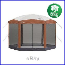 Canopy Gazebo Outdoor Tent Party Instant Screened Coleman Garden Camping Fun
