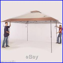 Canopy Instant Shelter Tent Pop Up Shade Sun 13 X 13 Coleman RV Backyard BBQ