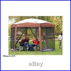 Canopy Outdoor Tent Shade Gazebo Camping Screene Shelter Yard Cover Picnic BBQ