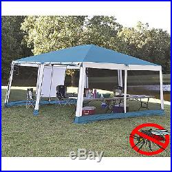 Canopy Screen House Tent 15 x 15 Shelter Insect Protection Camping Outdoor Party