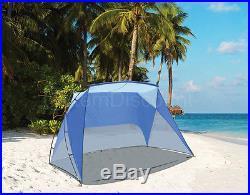 Caravan Canopy Blue Sport Shelter Portable Sun Weather Beach Camping Tent