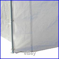 Caravan Canopy Domain 10' x 20' Straight Leg Fast Canopy Tent Set with Sidewalls