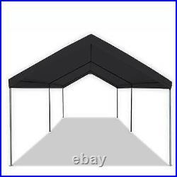 Caravan Canopy Domain 10x20 Straight Leg Instant Canopy Tent Set, Black (Used)