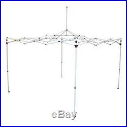 Caravan Canopy M Series Pro 2 10 x 10 Foot Straight Leg Canopy, White (Open Box)