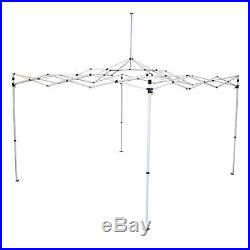 Caravan Canopy Pro 2 10 x 10 Foot Straight Leg Instant Canopy, White (4 Pack)